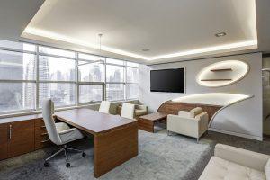 Dobrze wyposażone biuro